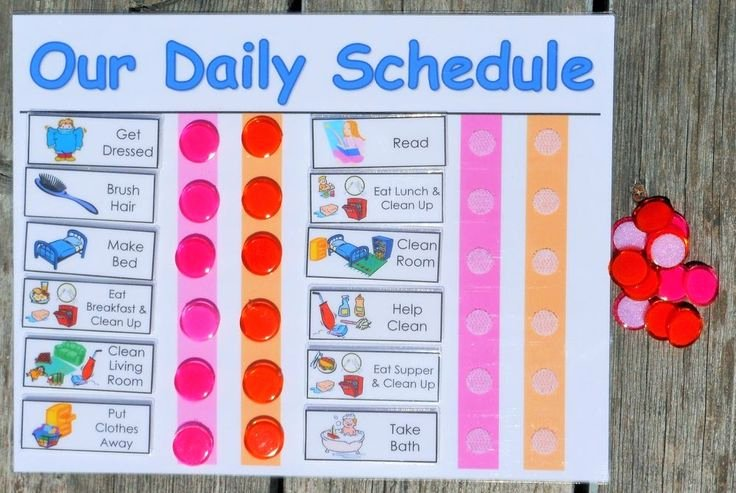 Chore Charts for Multiple Children Luxury Details About Daily Chore Chart for Multiple Kids You
