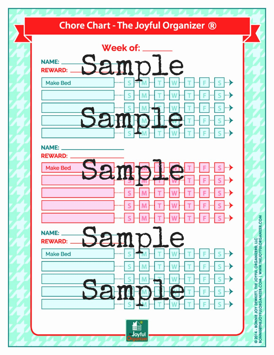 Chore Charts for Multiple Children New Printable Chore Chart for Multiple Kids