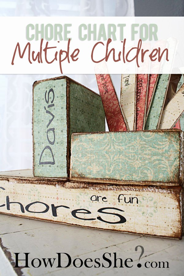 Chore Charts for Multiple Kids Unique Chore Chart for Multiple Children