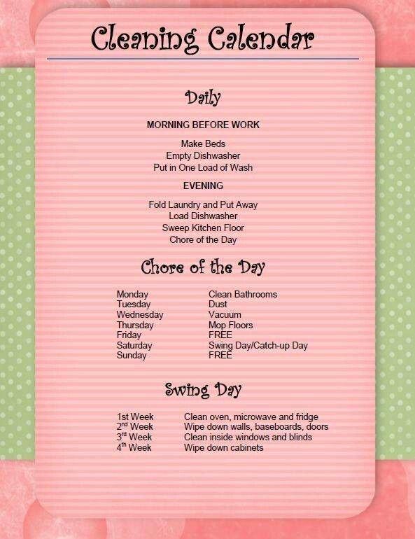 Chore List for Adults Unique 25 Best Ideas About Adult Chore Chart On Pinterest