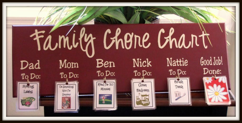 Chore Schedule for Family Best Of Super Saturday Crafts Family Chore Chart