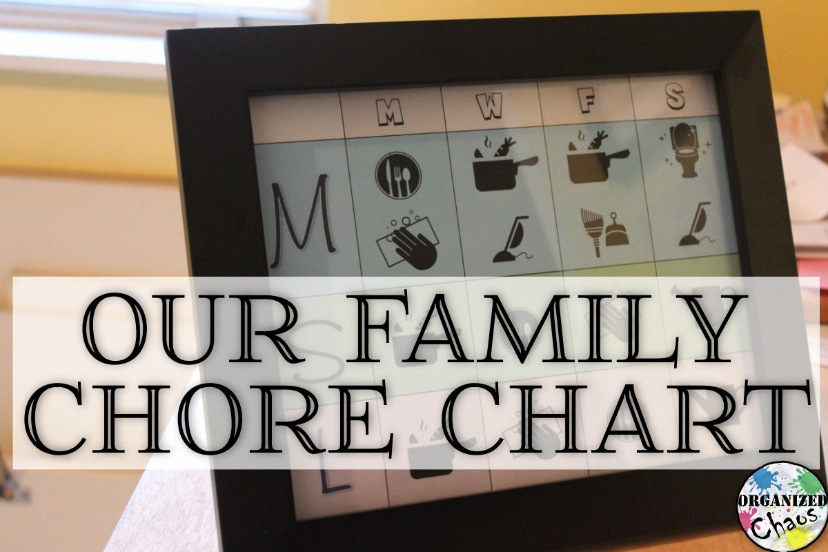 Chore Schedule for Family Elegant Family Chore Chart