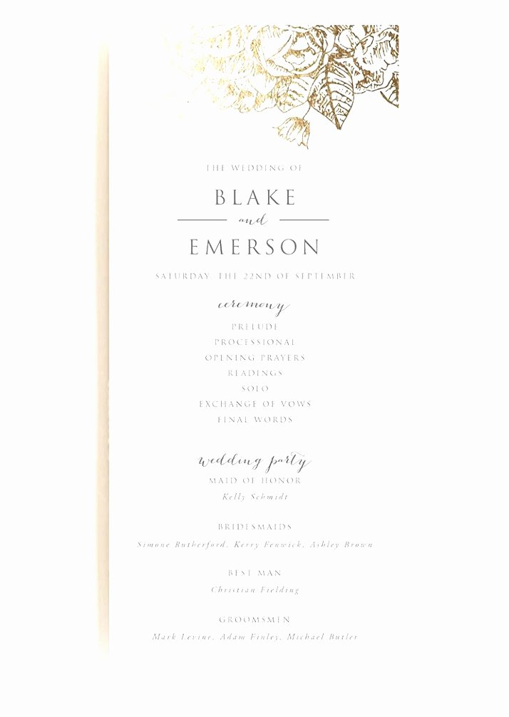 Christian Wedding Program Template Fresh 5 Christian Wedding Program Template Rroin