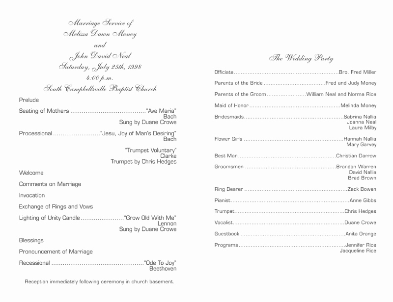 Christian Wedding Program Template Inspirational Wedding Program Templates Wedding Programs Fast