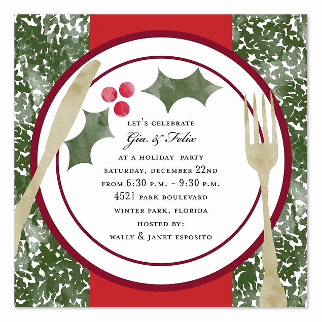 Christmas Dinner Invitation Template Free Awesome 83 Best Images About Invitations On Pinterest