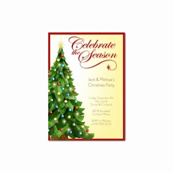 Christmas Dinner Invitation Template Free Best Of Luncheon Invitation Template Free