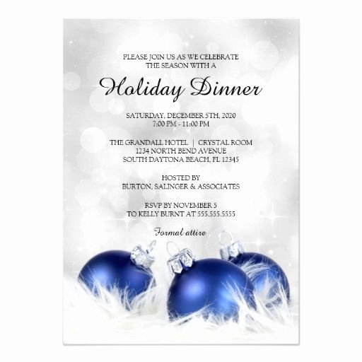 Christmas Dinner Invitation Template Free Luxury 31 Best Images About Corporate Holiday Party Invitations