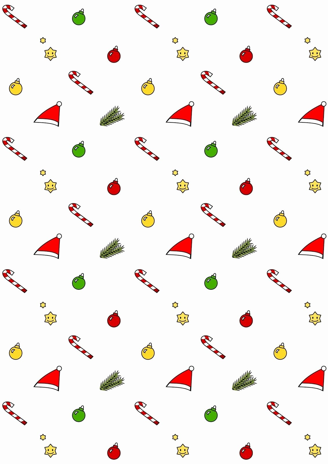 Christmas Paper to Print Elegant Free Printable Christmas Pattern Paper