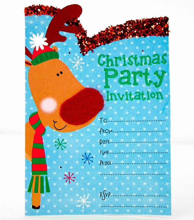 Christmas Party Invitation Template Free Beautiful Free Printable Christmas Invitation Templates
