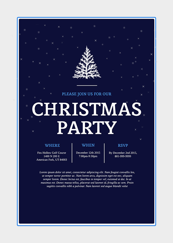Christmas Party Invitation Template Free Best Of Make Homemade Christmas Cards the New Old Fashioned Way