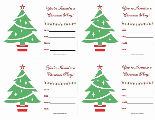Christmas Party Invitation Template Free Elegant 111 Best Images About All Free Printable On Pinterest