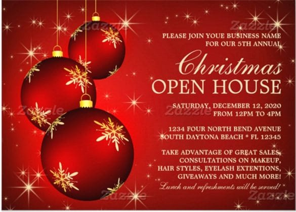 Christmas Party Invitation Template Free Elegant Free Downloads Christmas Invitations