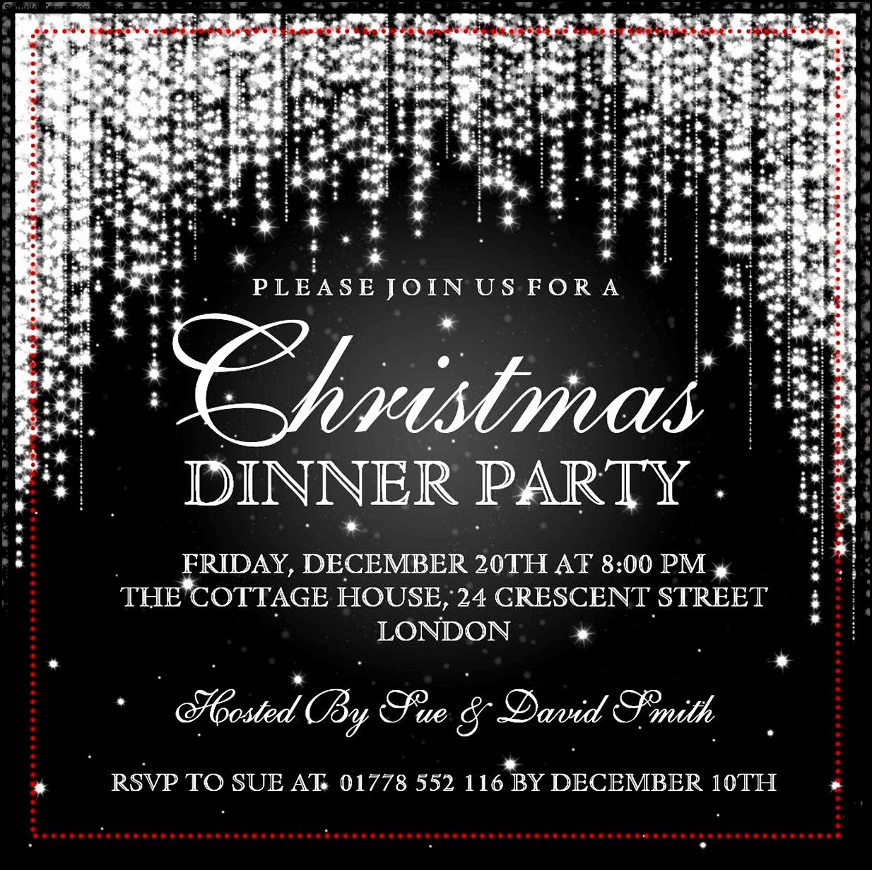 Christmas Party Invitation Template Free Fresh Christmas Invitation Template