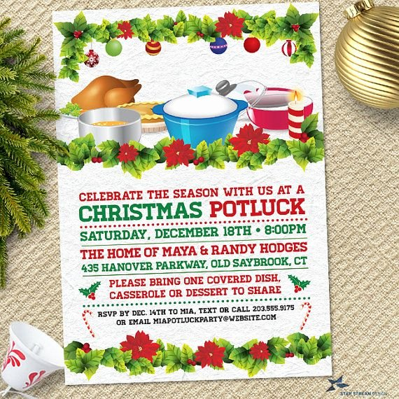 Christmas Potluck Invitation Wording Luxury 1000 Ideas About Potluck Invitation On Pinterest