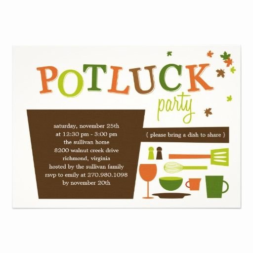 Christmas Potluck Invitation Wording Luxury Fice Thanksgiving Potluck Invitation Wording