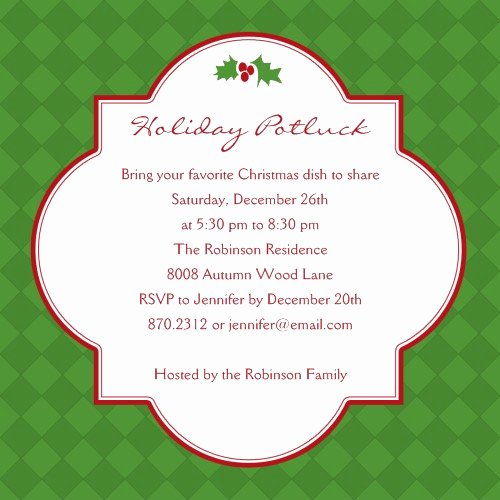 Christmas Potluck Invitation Wording Luxury Template Christmas Potluck Search Results
