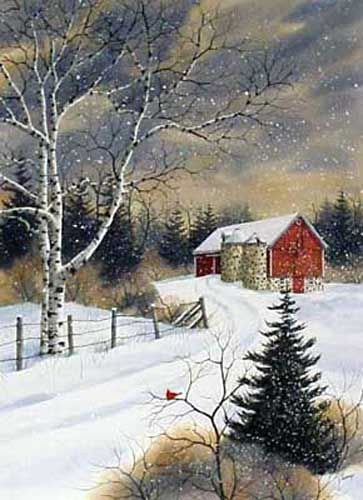 Christmas Scenes to Paint Beautiful the Kathy Glasnap Gallery Of Door County original