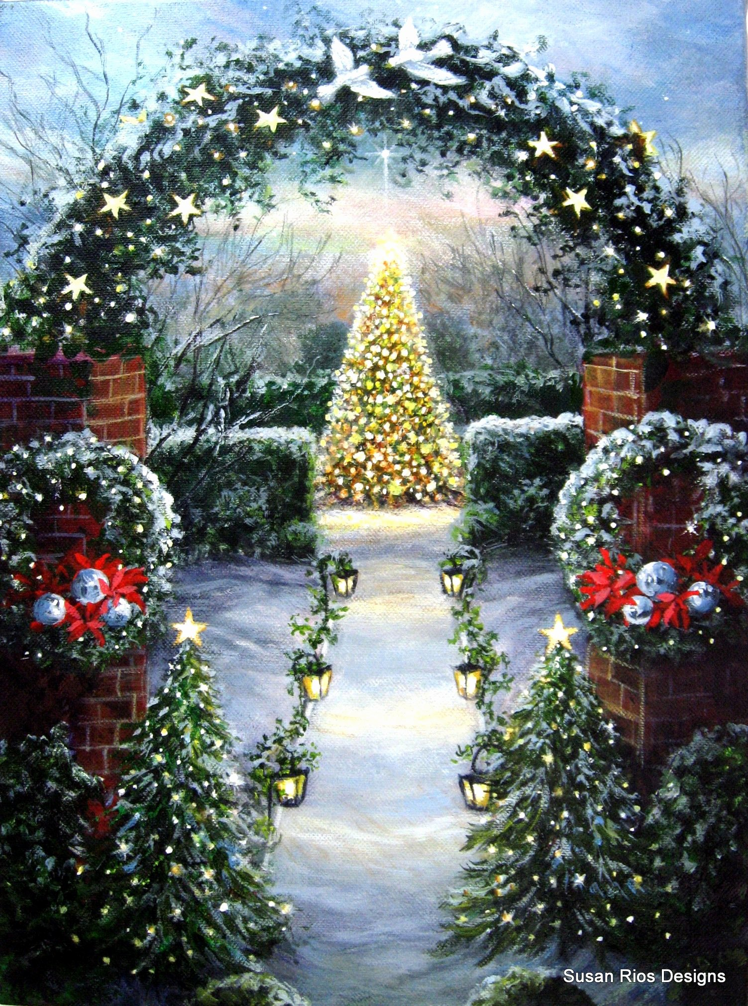 Christmas Scenes to Paint Fresh A New Christmas Painting Oh Holy Night