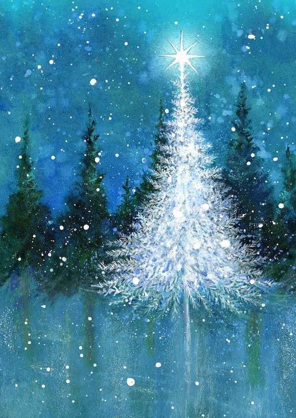 Christmas Scenes to Paint Luxury Best 25 Christmas Paintings Ideas On Pinterest