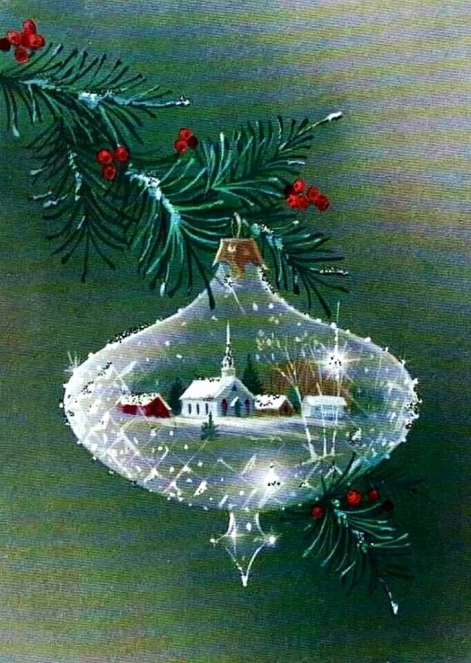 Christmas Scenes to Paint New I Love ornaments with Scenes Inside them