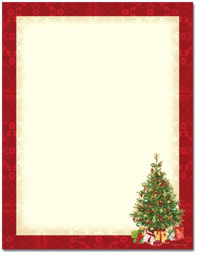 Christmas Stationery for Word Awesome Printable Christmas Stationery