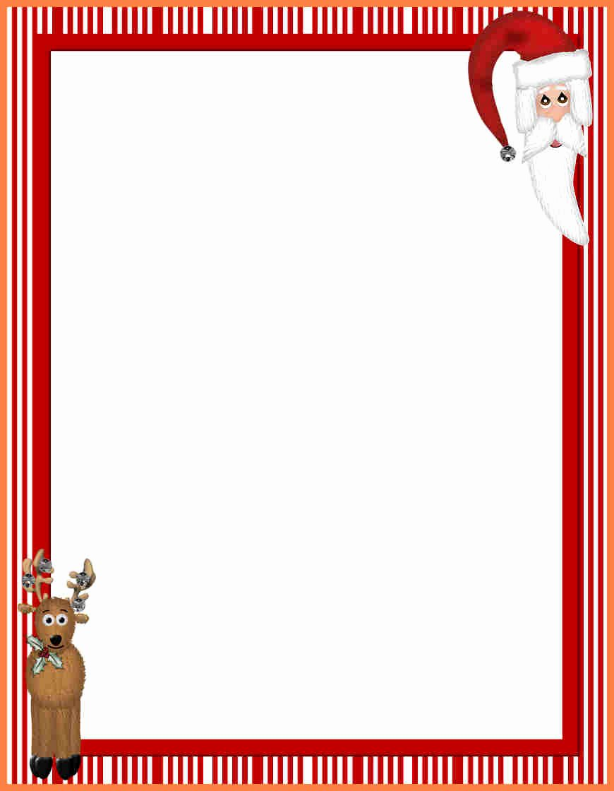 Christmas Stationery for Word Beautiful 7 Christmas Letterhead Templates Word