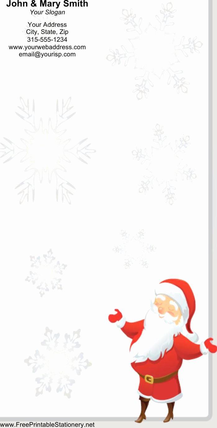 Christmas Stationery for Word Elegant Christmas Stationery Templates