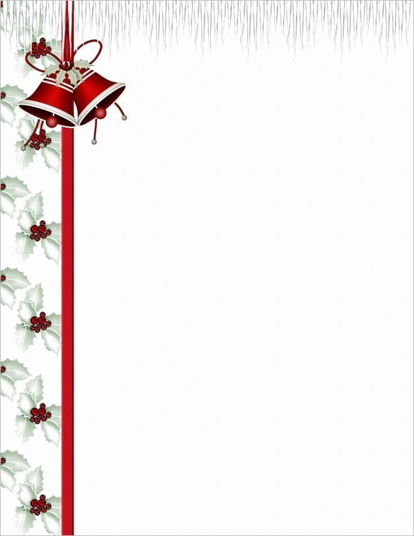 Christmas Stationery for Word Elegant Free Stationery Templates for Microsoft Word Pics – Free