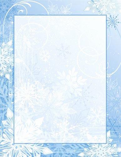 Christmas Stationery for Word Fresh Christmas Letterhead Winter Wonderland Red Green Foil