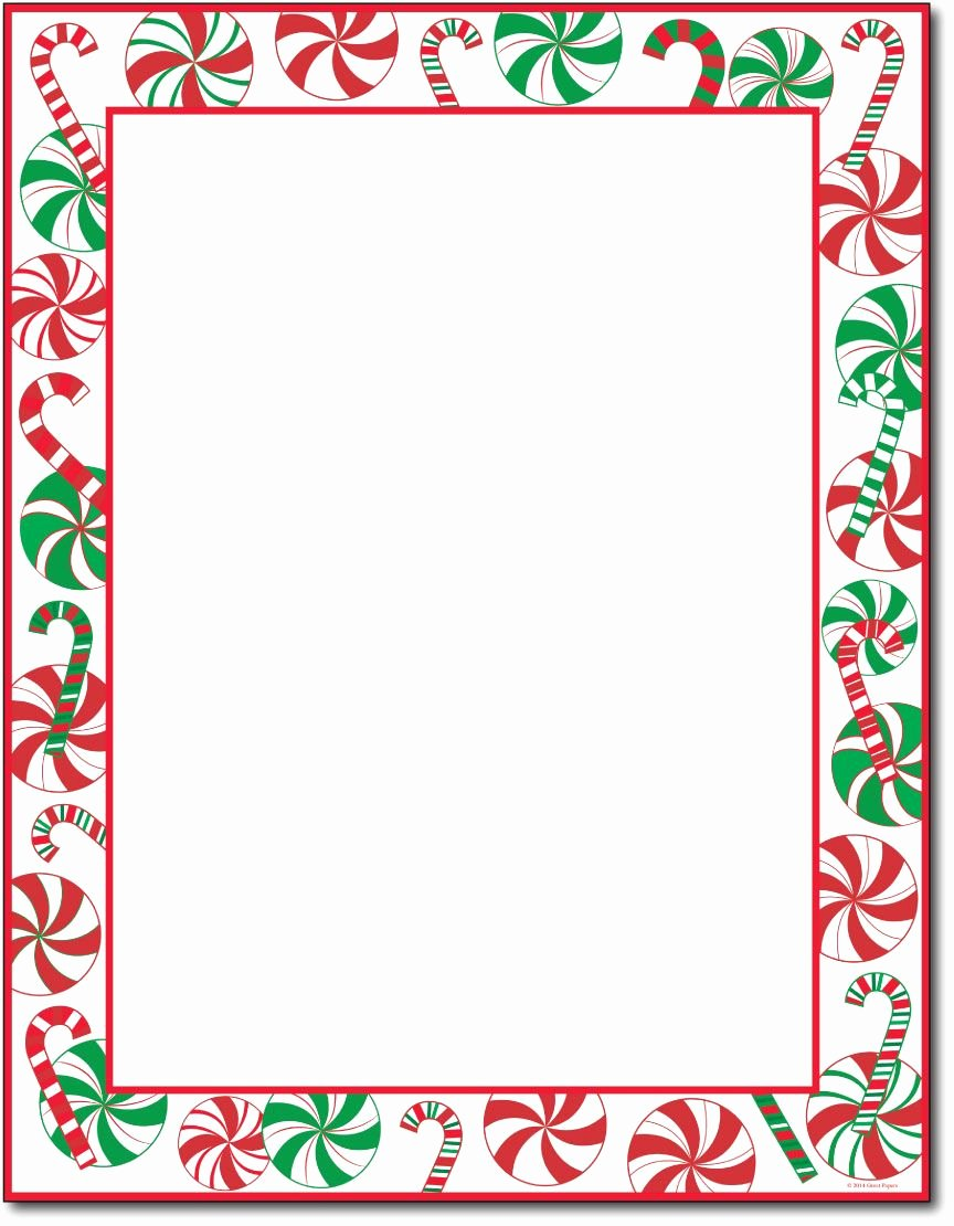 "Christmas Stationery for Word Lovely This Stationery Measures 8 1 2"" X 11"" and is Made On A"