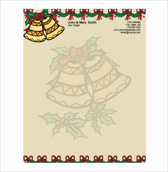 Christmas Stationery for Word Luxury 25 Christmas Stationery Templates Free Psd Eps Ai