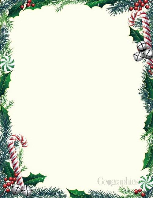 Christmas Stationery for Word Luxury Bells Ivy Christmas Letterhead W