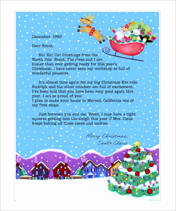 Christmas Stationery for Word Luxury Free Line Christmas Letter Templates – Festival Collections