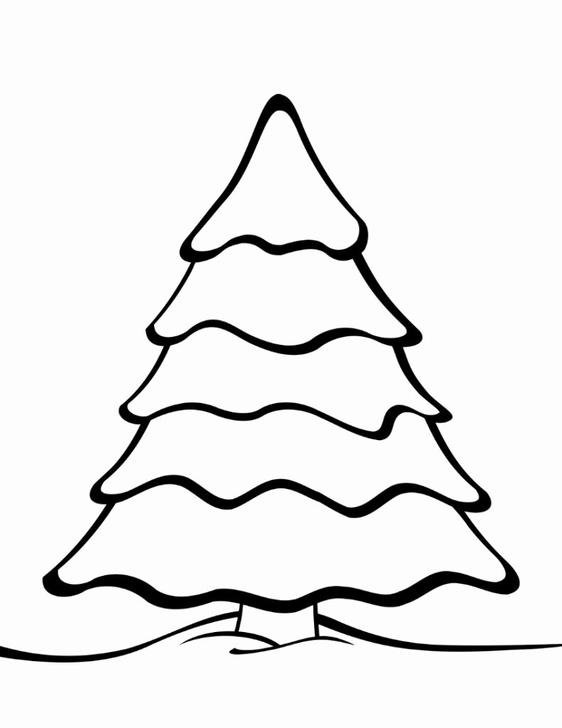 Christmas Templates to Print Beautiful Free Printable Christmas Tree Templates