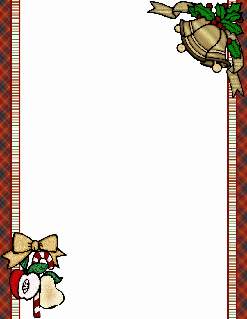 Christmas Templates to Print Best Of Christmas 1 Free Stationery Template Downloads