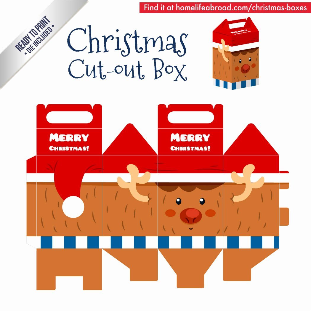 Christmas Templates to Print Elegant Mega Collection Of 38 Cut Out Christmas Box Templates