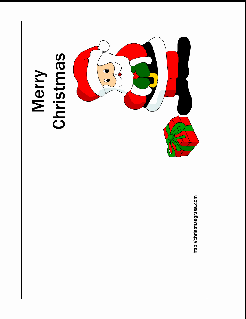 Christmas Templates to Print New Free Printable Christmas Cards