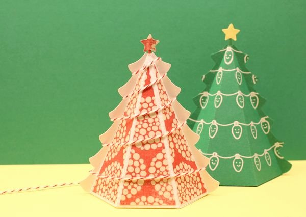 Christmas Tree Box Template Awesome Free 3d Christmas Tree Templates Pdf & Udio Versions