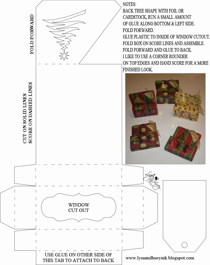 Christmas Tree Box Template Luxury 3 Piece Hershey Nug Holder I Use This All the Time