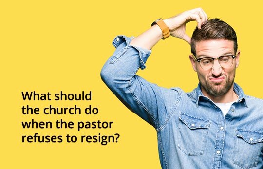 Church Resignation Letter for Pastors Fresh What Should the Church Do when the Pastor Refuses to