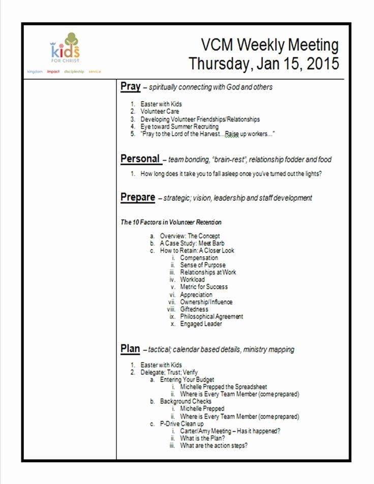 Church Staff Meeting Agenda Best Of Meeting Agenda Pic 1275×1650