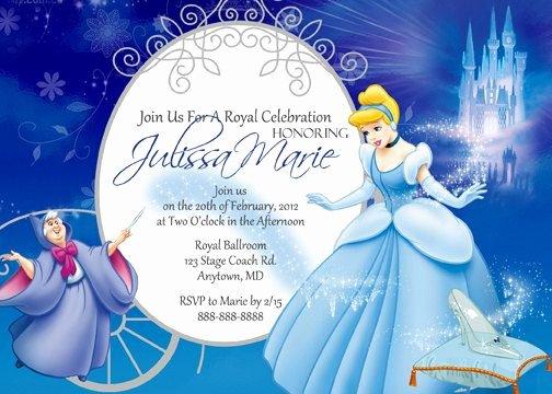 Cinderella Invitation Template Free Awesome Best 25 Cinderella Invitations Ideas On Pinterest
