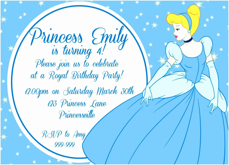 Cinderella Invitation Template Free Elegant 9 Cinderella Invitation Template Pwato