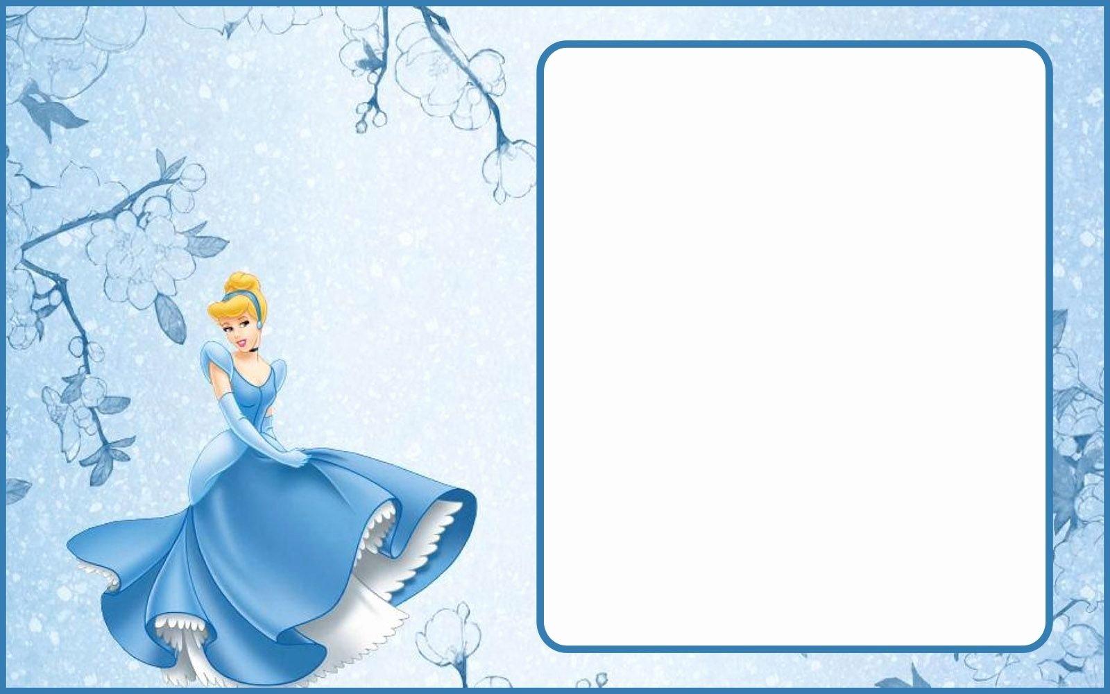 Cinderella Invitation Template Free Elegant Cinderella Invitation Template