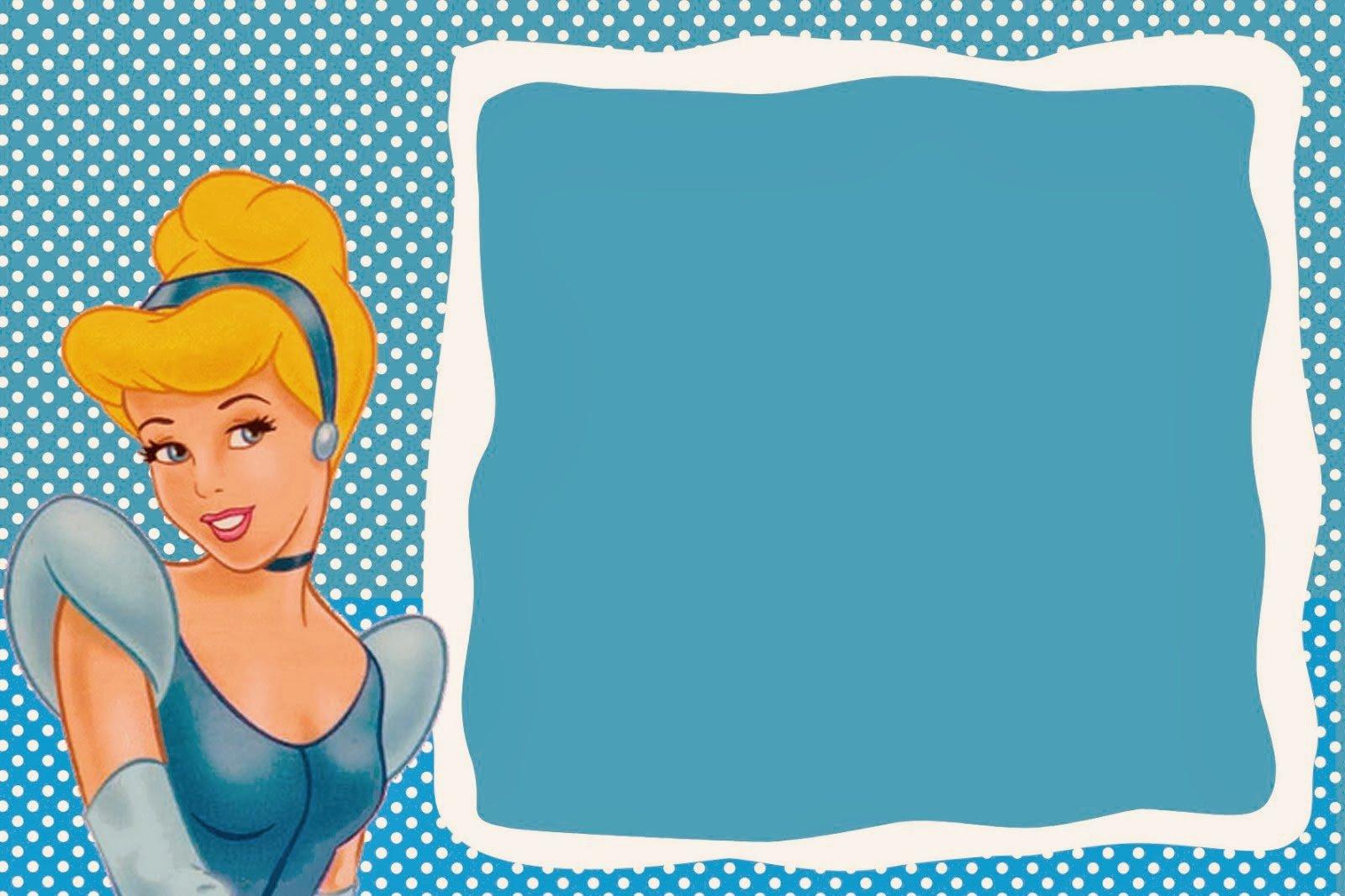 Cinderella Invitation Template Free Luxury Cinderella Free Printable Invitations Party Printables