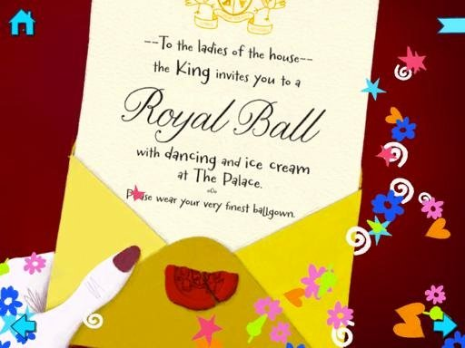 Cinderella Invitation to the Ball Awesome Ipad Books for Kids Cinderella by Nosy Crow