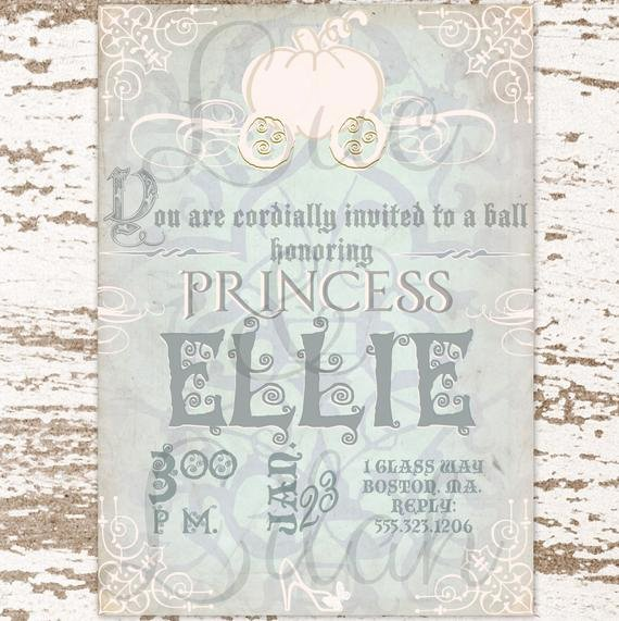 Cinderella Invitation to the Ball Best Of Cinderella Party Invitation Cinderella S Royal Ball