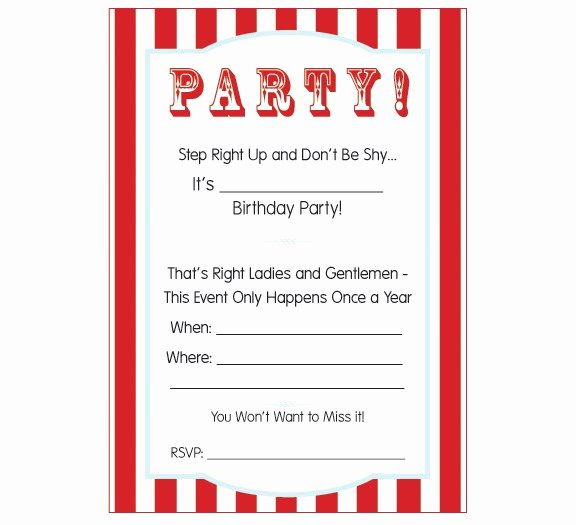 Circus Ticket Invitation Template Free Awesome Circus Ticket Template Cliparts