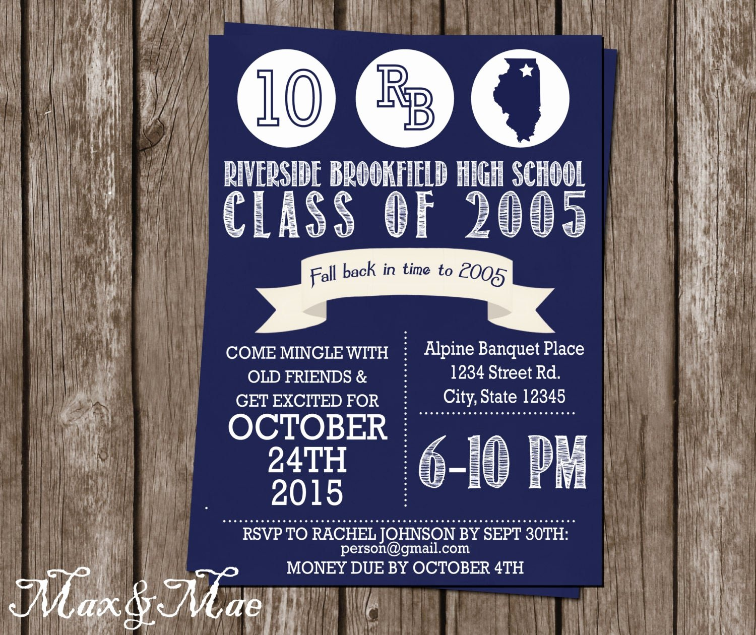 Class Reunion Invitation Template Free Awesome High School Reunion Invitation College Reunion Class Of