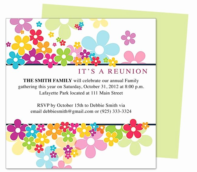 Class Reunion Invitation Template Free Elegant 17 Best Images About Invitations On Pinterest